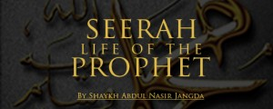 Seerah – Life of the Prophet:The burial of the martyrs of Uhud