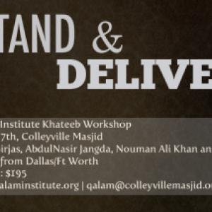 Khateeb Workshop June 3-7, 2010 – Nouman Ali Khan, AbdulNasir Jangda, and Yaser Birjas