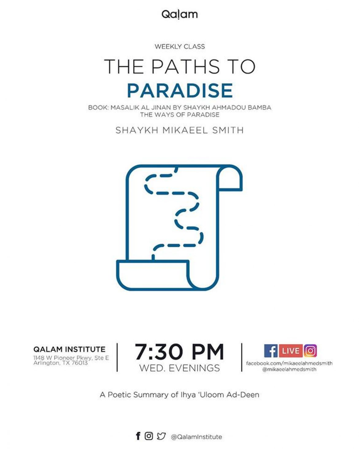 The Paths to Paradise – Part 2