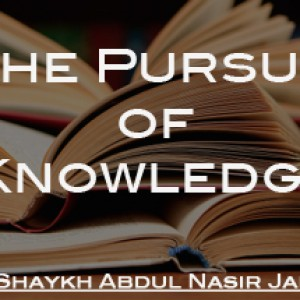 The Pursuit of Knowledge Pt 1