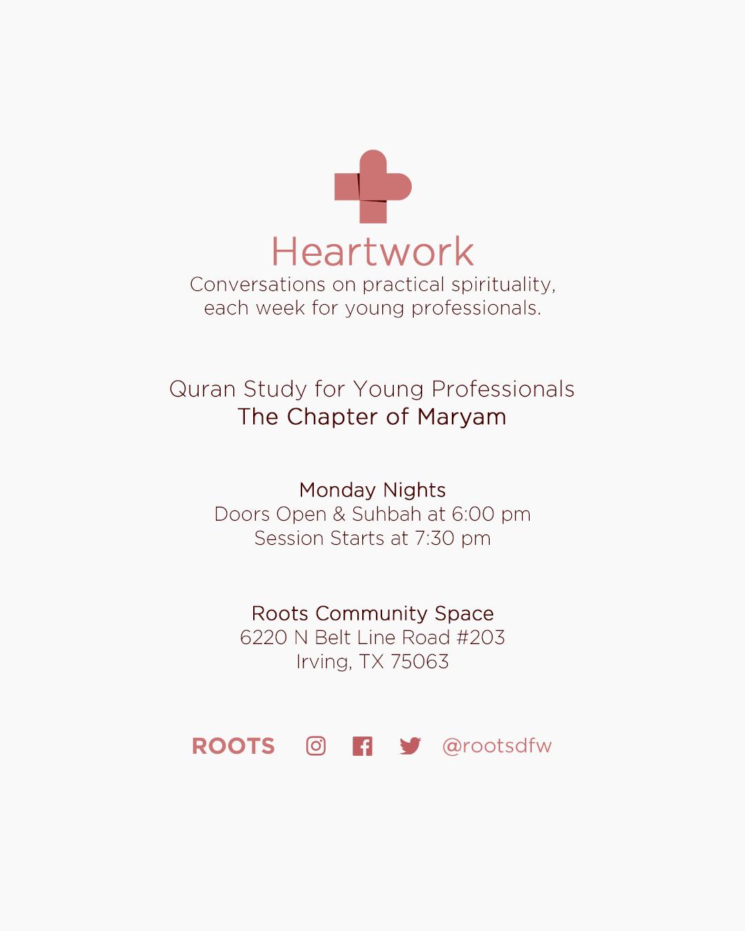 Heartwork – Surah Maryam – Part 20