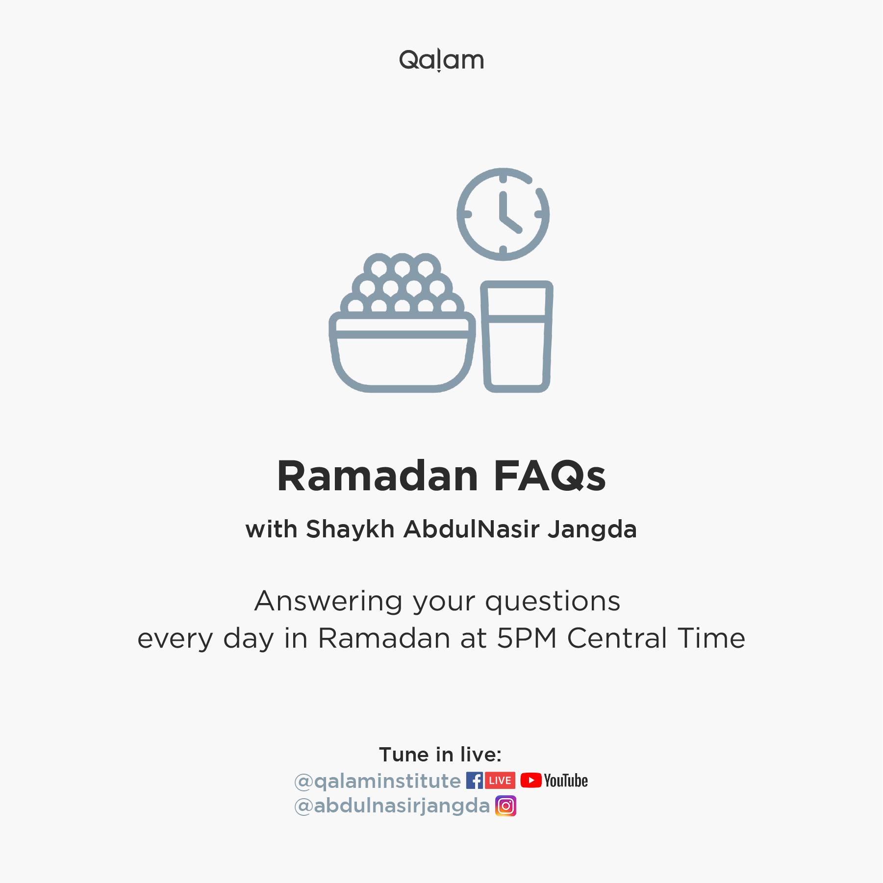 Ramadan FAQs | 5/10